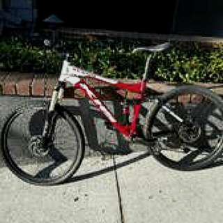 KHS XC204 Full Suspension Mountain Bike