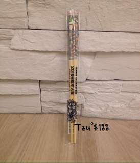 7-11三麗鷗猴年家族竹製環保筷,酷企鵝篇,全新商品。