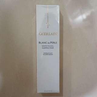    全新即期免郵    GUERLAIN嬌蘭 珍珠柔光系列 晚安美白保濕面膜 60ml