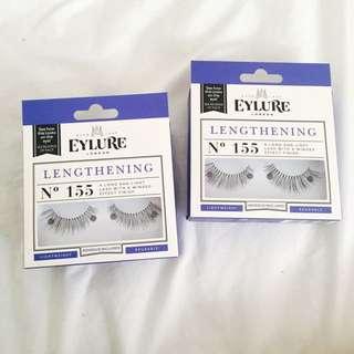 Eylure Lengthening False Lashes No.155 X 2