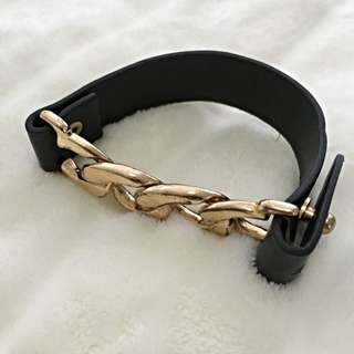 Gold Chain Wrist Band