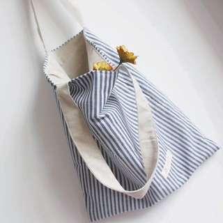 🇯🇵日系無印風單肩手提兩用托特包購物袋