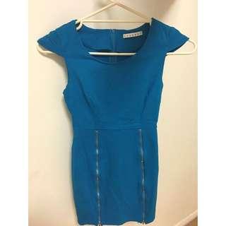Mossman Blue Dress