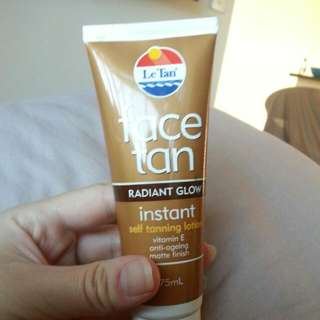 Le Tan Face Tan