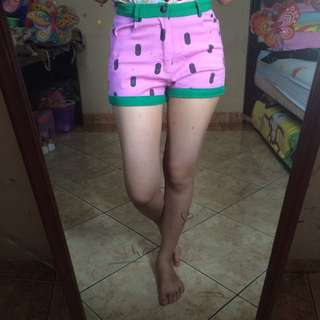 💜Watermelon Hotpants