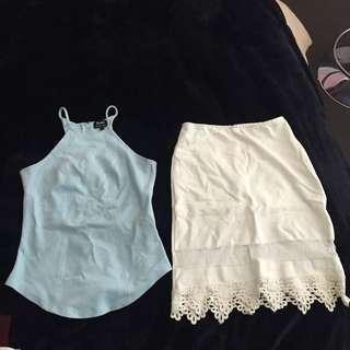 Top And Midi Skirt