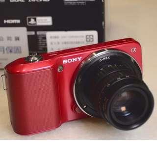 (Lomo風) SONY NEX-3機身 含特殊鏡頭 適合Lome愛好者 藝術創作者 價格含運