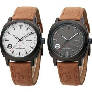 Outdoor Military Wristwatches Leather