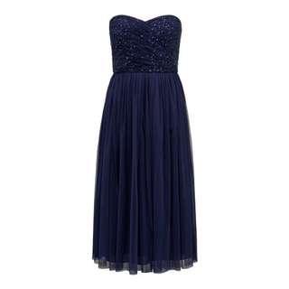Forever New Embellished Tulle Midi Dress