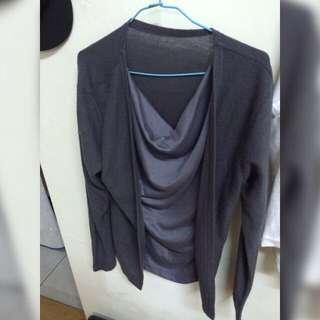 針織長袖衣服