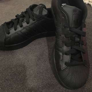 Adidas Black Superstars