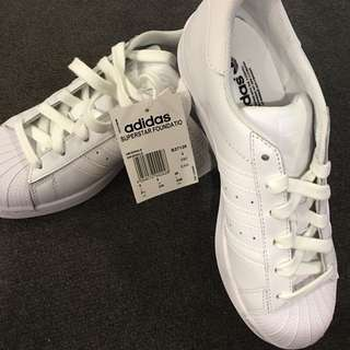 Adidas Superstars White