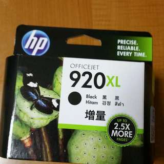 HP Office jet Cartridge (BNIB) - Black 920