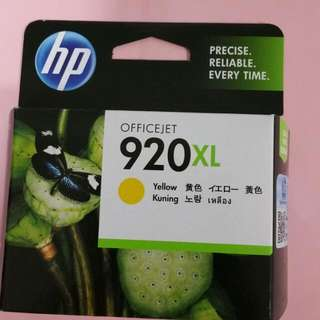 HP Office jet Cartridge (BNIB) - Yellow 920