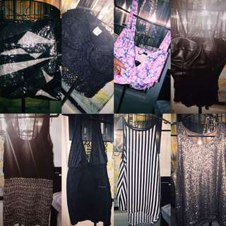 tops, Skit And Dresses