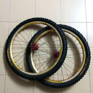 Mountain Bike Mtb Wheel set