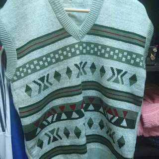 Mens Sweater Vest XL
