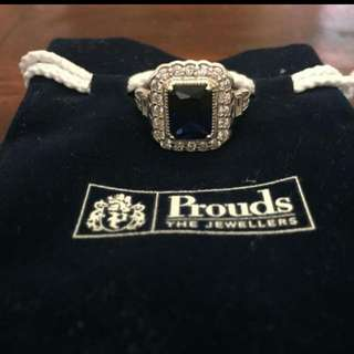 Prouds Silver Ring