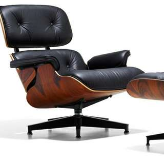 Eames Lounger & Ottoman (Reserved)