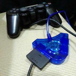 PS2有線手把接PC電腦  USB轉接器