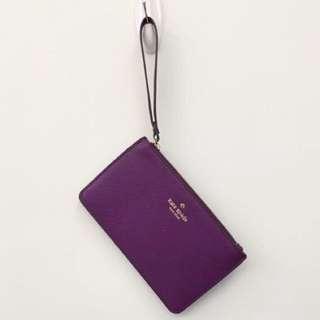 🎉任2件$100元🎉KS款 防刮皮紫色手拿包