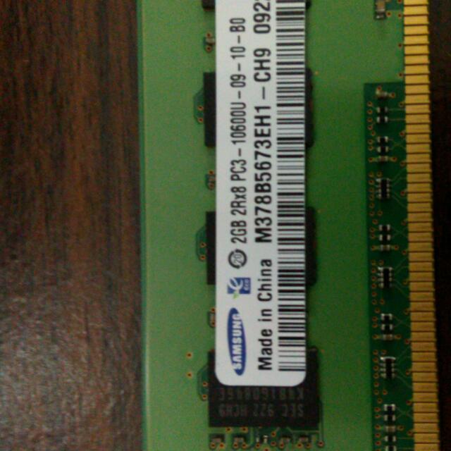 電腦記憶體2GB