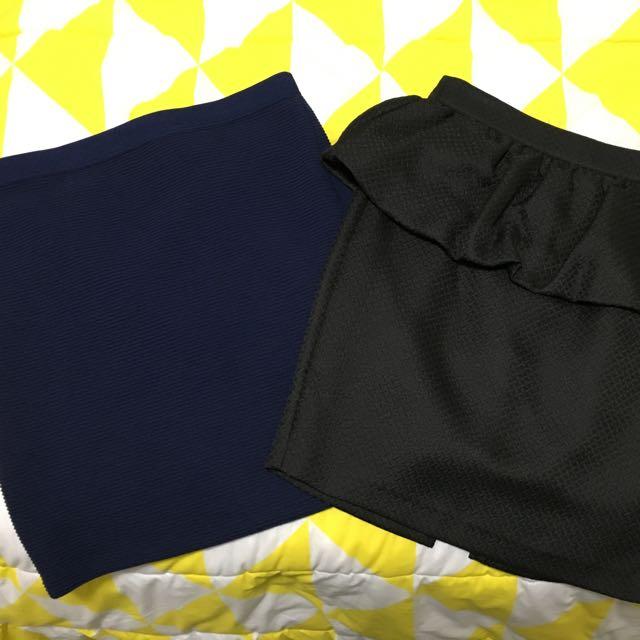 2x Skirts Size 10