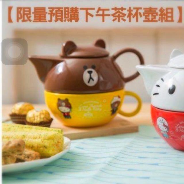 711熊大茶壺