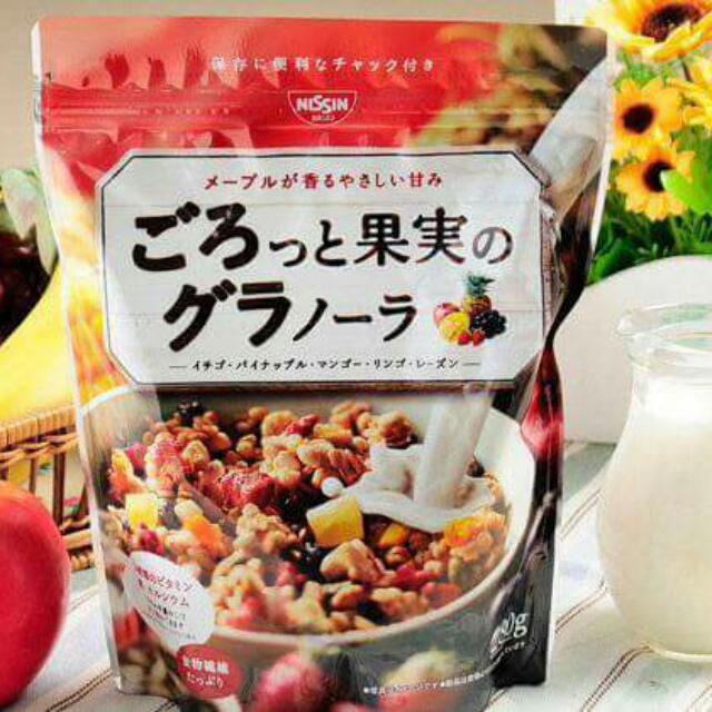 日本製。日清水果麥片