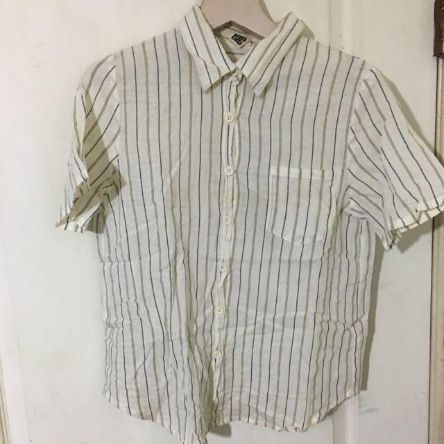 二手👚復古風格襯衫