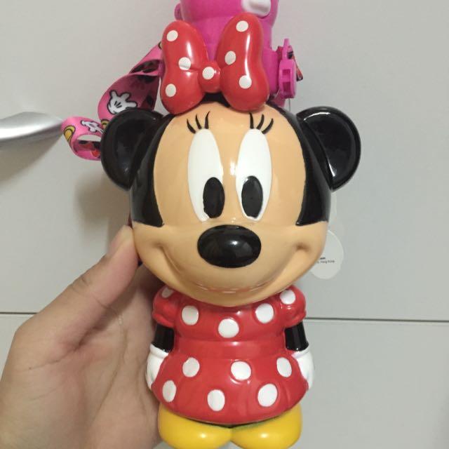 迪士尼帶回🎀米妮 水壺