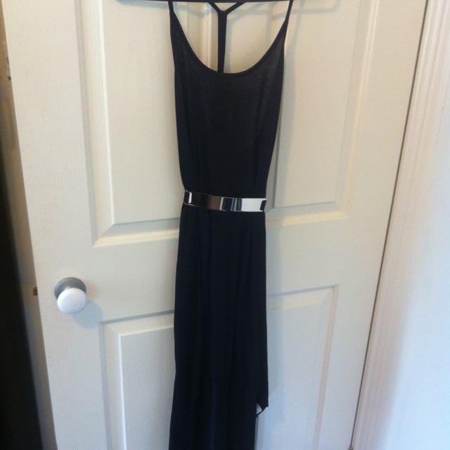 Black Slope Dress