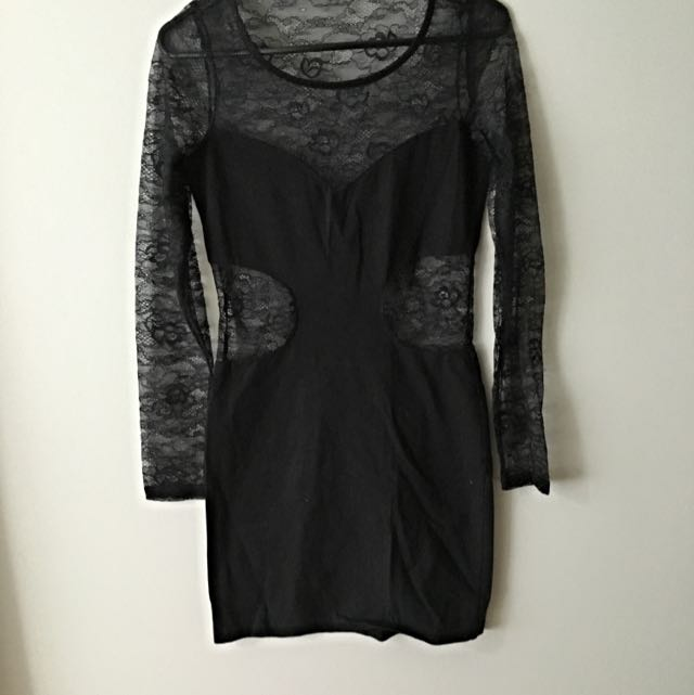 Bodycon Lace Dress Size M