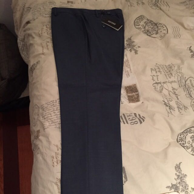 Brand New Oxford Holly Suit Trousers Blue