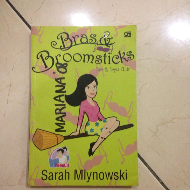 BRAS & BROOMSTICKS, By Sarah Mlynowski