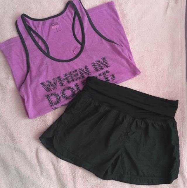 Size M Gym Set