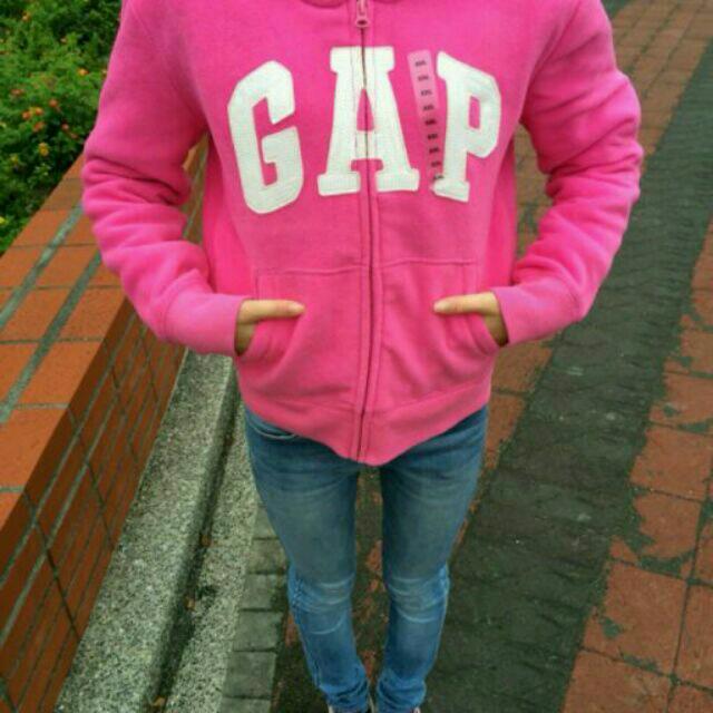 「降價求售」全新Gap抓絨連帽外套
