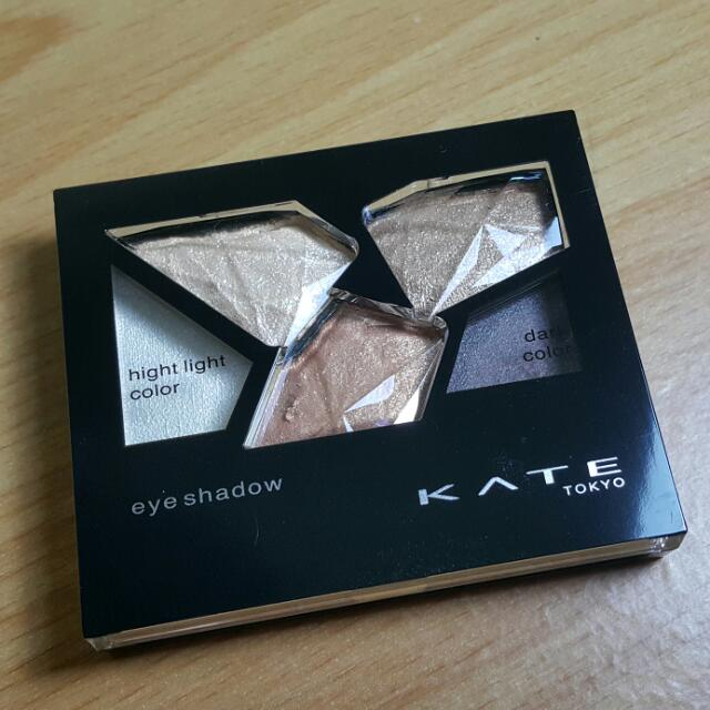 【免運】KATE迷鑽傾心眼影盒❤色號:BR-4