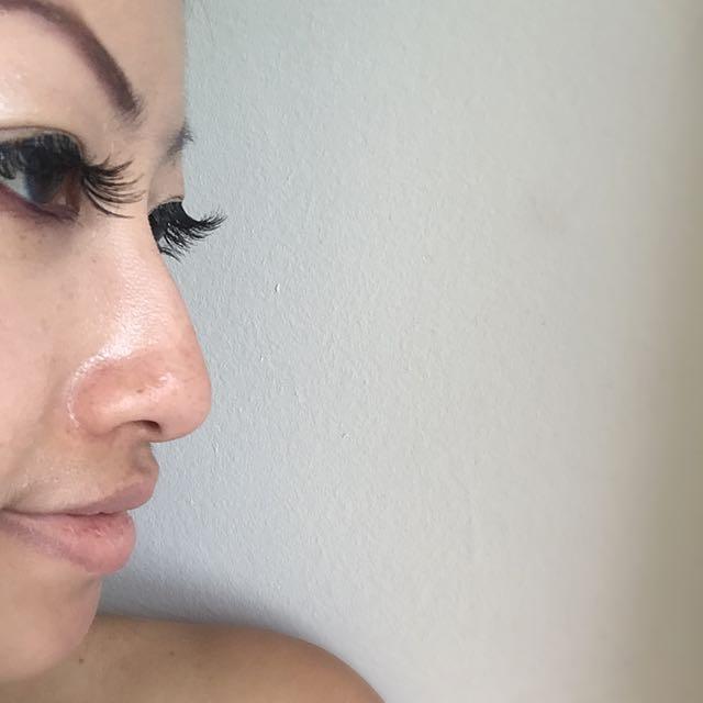 Fake Long Eye Lashes Messy Cross Thick & Natural