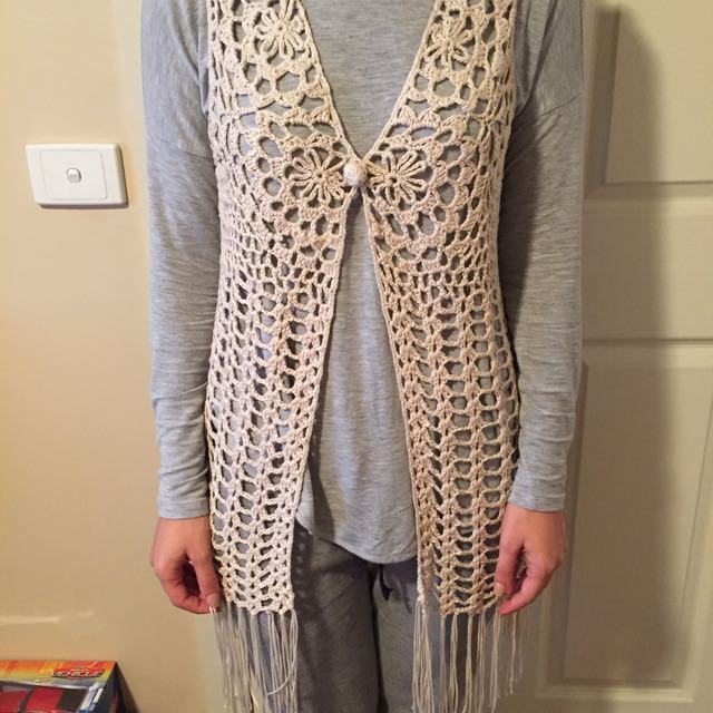 New Cotton On Crotchet Vest
