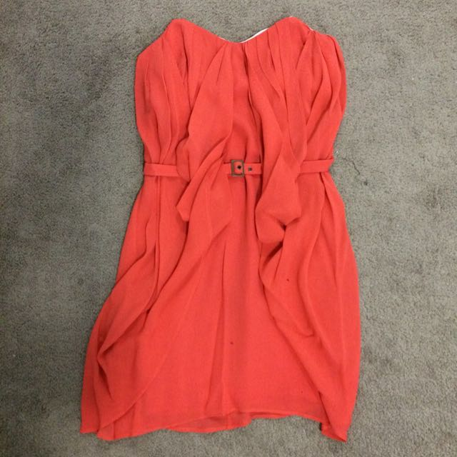 Pre-loved Rodeo Show Strapless Dress Size 6