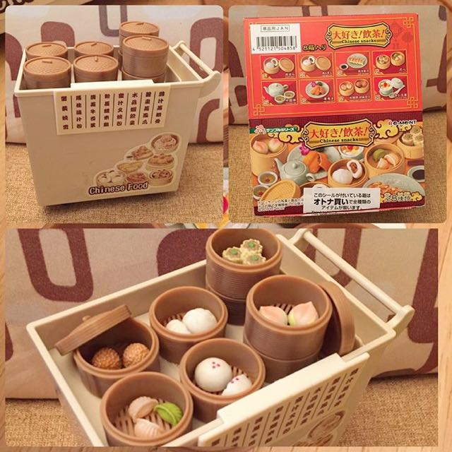 Re-ment Chinese Snacks, Toys & Games on Carousell