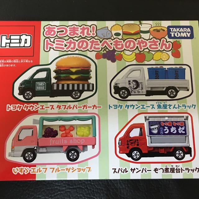 TOMICA 食物車組