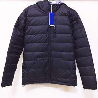 🚚 ((全新))正版Adidas超帥黑色太空灰羽絨衣🌪