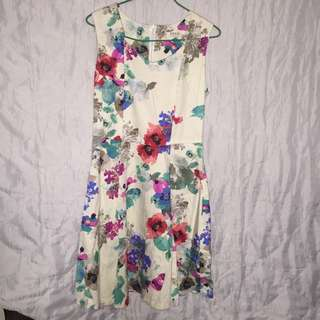 Floral Dress From FOND