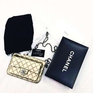 BNIB Gold Chanel Bag