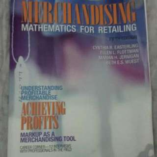 Business/Fashion Management Textbooks (Humber/Ryerson)   Fashion Forecasting, 3rd Ed., 10/10 condition, $100  Fabric Science, 10th Ed.10/10 condition, $100  merchandising mathematics for retail $150