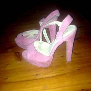 Pink New Look Heels