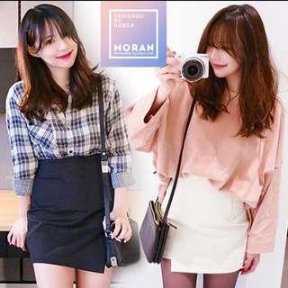 不規則包臀短裙(3色)