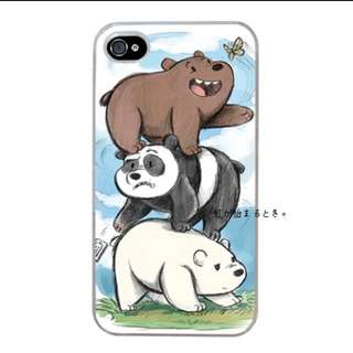 We Bare Bears手機殼 Iphone6 Iphone6s
